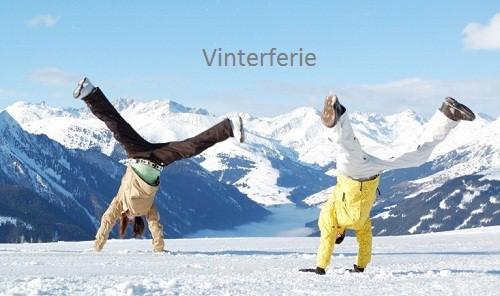 Hopper i sneen 500px