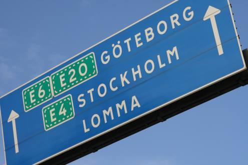 Skilt Gøteborg